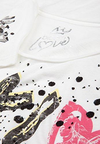 BLOOM Damen Shirt TOKIO & NEW YORK White