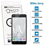 topaccs WIKO Jerry - Véritable vitre de Protection écran en Verre trempé Ultra résistante - Protection écran