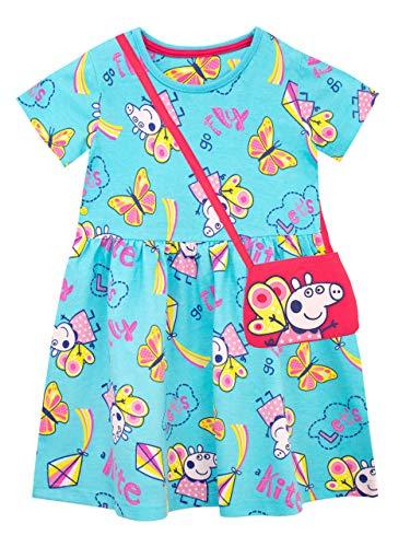 Peppa Pig Conjunto Vestido Bolso niñas Multicolor