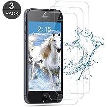 [3-Unidades] Protector de Pantalla iPhone 5S / SE / 5C / 5, Vanzon Cristal Vidrio Templado Premium Para Apple iPhone 5s / iPhone 5 / iPhone SE / iPhone 5C [9H Dureza][Alta Definicion 0.33mm]