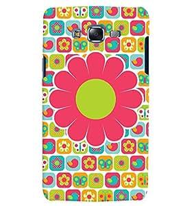 Citydreamz Pink Floral Print Hard Polycarbonate Designer Back Case Cover For Samsung Galaxy On5 Pro