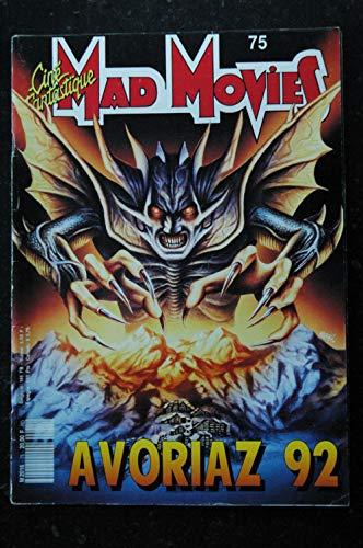 Ciné Fantastique MAD MOVIES n° 75 * 1992 * SPECIAL AVORIAZ 1992 FREDDY 6 La famille Adams