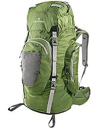 Ferrino Chilkoot 75 - Macuto de senderismo, color verde, talla 75 L