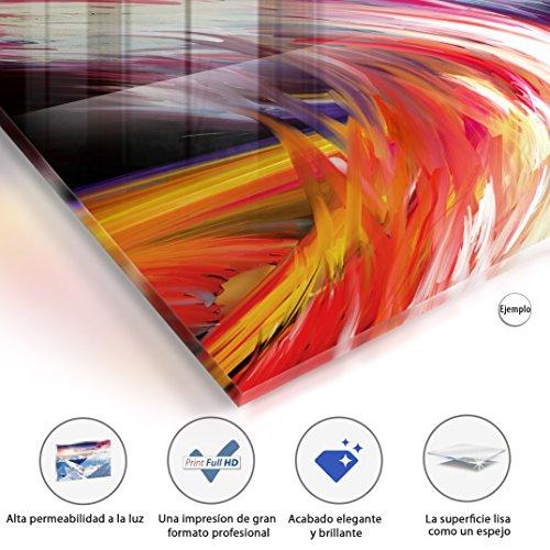 murando - Acrylglasbild Abstrakt 200x100 cm - 5 Teilig - Glasbilder - Wandbilder XXL - Wandbild - Bilder - h-A-0019-k-m - 2