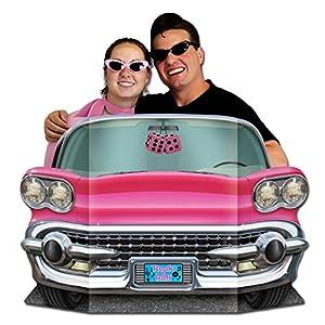Beistle 57984 1-Pack Pink Cabrio-Fotostütze, 3-Fuß von 25-Zoll