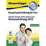 SteuerSparErklärung 2017 - Mac-Version (für Steuerjahr 2016) [Download]