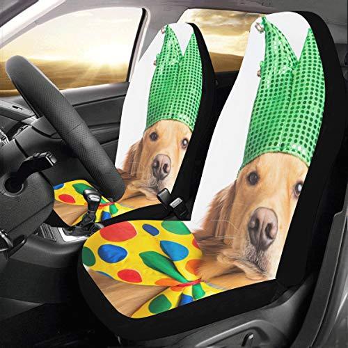 Krawatte Benutzerdefinierte Neue Universal Fit Auto Drive Autositzbezüge Schutz Für Frauen Automobil Jeep Lkw Suv Fahrzeug Full Set Zubehör Für Erwachsene Baby (set Von 2 Vorne) ()