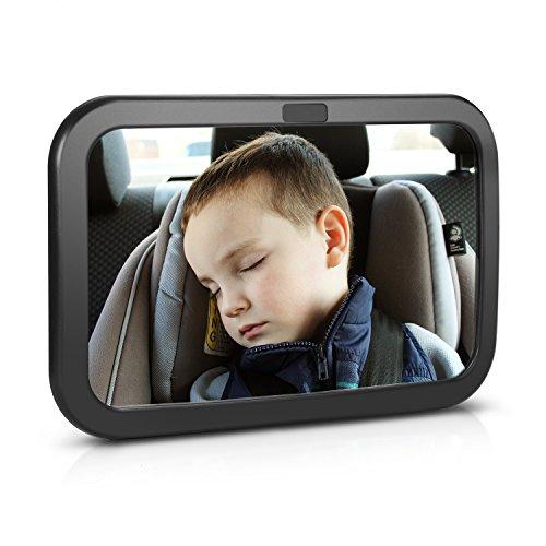 Spiegel Auto Baby Rücksitzspiegel für Babys,Adoric Rücksitzspiegel für Babys Autospiegel Baby Autositz Spiegel Auto Sicherheit Spiegel Rückspiegel Baby Spiegel Auto für Kinder in Kinderschale Babyschale, Kindersitz,