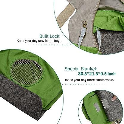 Shoulder Carry Handbag for Pets - AntEuro Portable Hands-free Pet Foldable Travel Carrier Bag, Sling Shoulder Bag for… 4