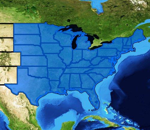 Lowrance Topographische Karten Lowrance-karten