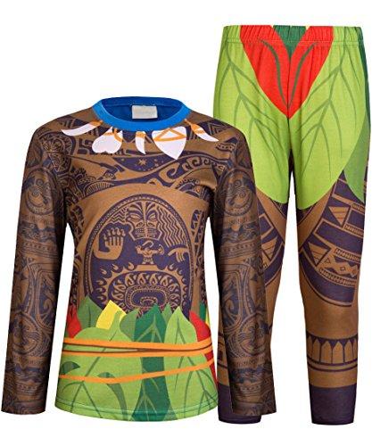 AmzBarley Maui Boys Pjs Schlafanzug für Jungen Kinder Pyjama Alter 2-3 Jahre (Baumwolle Shorts Pj)