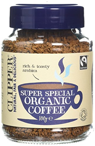 Clipper Organic Medium Roast Arabica Coffee, 100g 51qYRhaZflL