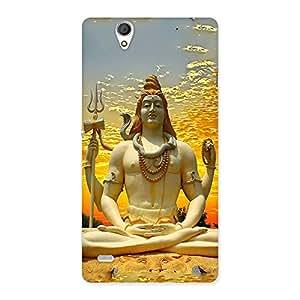 Shiva Samadhi Print Back Case Cover for Sony Xperia C4