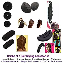Out of Box Lady Styling Bun Maker Twist Curler OOB_1003 High Hair Volumizer Bumpits (5 g)