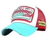 2019 Nuovo Uomo Donna Baseball Net cap Awesohle Lettera Ricamo Moda umidità Wicking Cappello By WUDUBE