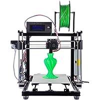 HICTOP 24V 3D-Drucker Kits Prusa I3 Desktop-Auto Leveling 3DD-12 Aluminium-Maschine (Schwarz)