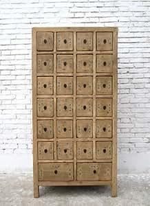 Jokey chine commode haute avec tiroirs en pin naturholzoptik 26