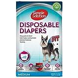 Simple Solution Pañales para perros, desechables