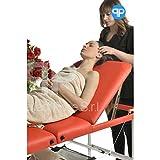 Table de massage portable inclinable 3zones Aluminium avec minuteur et porte-serviettes