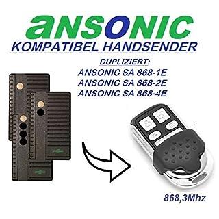 Ansonic SA 868-1E / SA 868-2E / SA 868-2E kompatibel handsender, klone fernbedienung, 4-kanal 868.3Mhz fixed code. Top Qualität Kopiergerät!!!