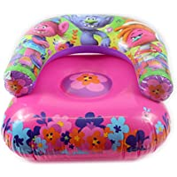 Giftsbynet NEW Kids TROLLS Inflatable Moon Chair Dreamworks Movie Beach Garden Camping Pink