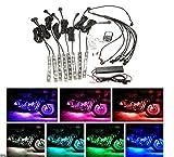 Sport family 8 x Motorrad ATV Beleuchtung Auto LED Licht Kit 6LED Multi Color Streifen Strip Neon FarbenInnenbeleuchtung Interior Lampe