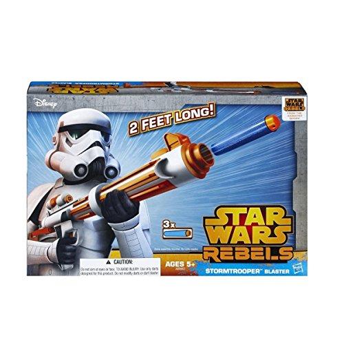 Disney Star Wars Rebels Spielzeug–Stormtrooper Deluxe Nerf Dart (Star Stormtrooper Gun Wars)