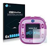 Savvies Schutzfolie für Vtech Kidizoom Action Cam [6er Pack] Folie Displayschutzfolie - Displayfolie klar