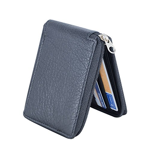 Holboro Men's Genuine Leather all Round Zipper Wallet  available at amazon for Rs.279