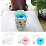 #8: Magideal Portable USB Air Humidifier Home Car Office Aroma Air Diffuser White