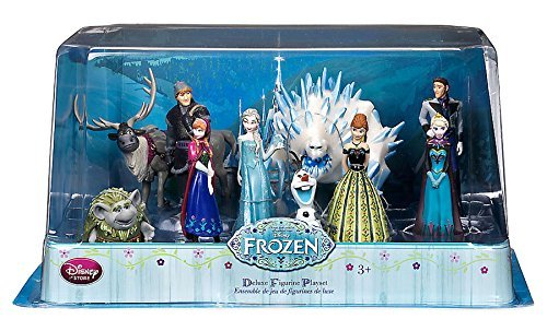 Disney Frozen Frozen Deluxe Figure Playset - 10 Piece by Disney Frozen