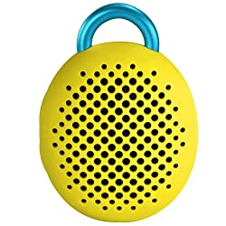 Divoom Bluetune Bean bluetooth Speaker for Smartphones - Retail Packaging - Yellow