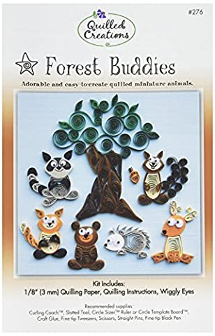 Quilled Creations Paper Quilling Kit forest Buddies