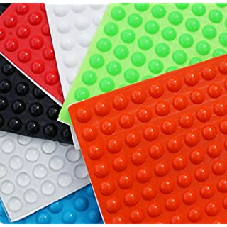 Simply the Best 3M RUBBER FEET Bumpons Stoppers ~ 10mm Dia x 4mm Height ~ Black, Clear, White, Blue, Green, Red, Orange (Black, 1000 Individual Bumpons)