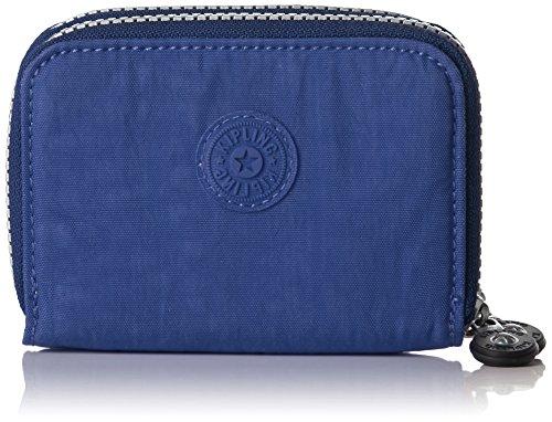 Kipling Abra, Portafogli Donna, Blu (REF33V Jazzy Blue), 12.5x9x3 cm