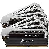Corsair Dominator Platinum - Módulo de memoria XMP 2.0 de 64 GB (8 x 8 GB, DDR4, 2400 MHz, CL14) (CMD64GX4M8A2400C14)