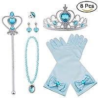 ------ Vicloon Princess Dress Up Accessori 4 pezzi ------ - I nostri accessori per la corona sono il miglior regalo per i bambini e adatti a feste di cosplay, feste a tema. - I nostri prodotti ispirano l'esplorazione e arricchiscono la vita d...