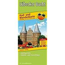 Lübecker Bucht: Rad- und Wanderkarte mit Ausflugszielen, Einkehr- & Freizeittipps, wetterfest, reißfest, abwischbar, GPS-genau. 1:50000 (Rad- und Wanderkarte / RuWK)