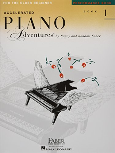 Accelerated Piano Adventures for the Older Beginner - Performance Book 1 Cover Image