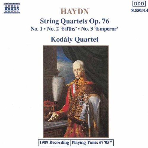 """String Quartet No. 61 in D minor, Op. 76, No. 2, Hob.III:76, """"Fifths"""": III. Menuetto: Allegro ma non troppo"""