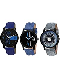 Fonex Mercury Trendy Analog Watch For Men Combo Of 3