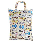 Teamoy viaggiare Hanging umido sacchetto asciutto per il panno Nappy / sporchi vestiti Organizzatore Tote Bag, gatto