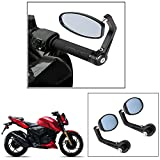 #5: AutoStark Motorycle Bar End Mirror Rear View Mirror Oval for Royal Enfield Classic 350