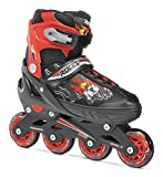 Roces Jungen Inline-skates Compy 6.0, black-red, 38-41, 400808