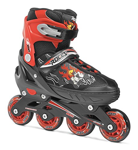Roces Jungen Inline-skates Compy 6.0, black-red, 30-33, 400808