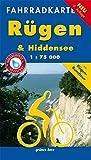 Fahrradkarte Rügen & Hiddensee: Mit Rügen-Rundtour. Wasser- und reißfest. (Fahrradkarten)