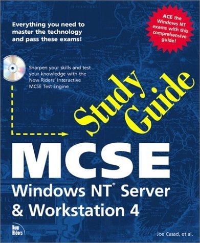 MCSE Study Guide: Windows NT Server and Workstation 4 (Sams Teach Yourself) by Joe Casad (1996-12-01) par Joe Casad