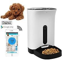 home-neat dispensador automático de comida para perros y gatos – caractéristiques alarmas de distribución