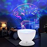 Best Romantic Time Watch Phones - iLifeSmart Remote Control Hypnosis Ocean Wave Projector Colorful Review