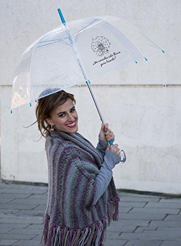 Paraguas con frase romántica para regalar a tu pareja.